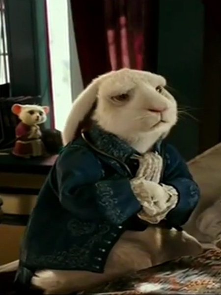 alice rencontre lapin blanc